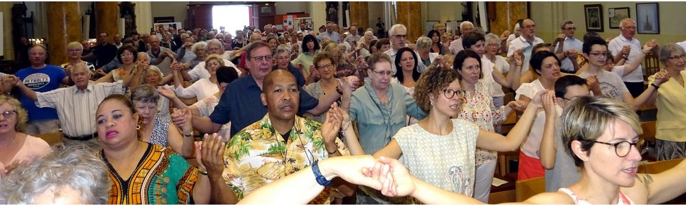 messe inaugurale de la paroisse